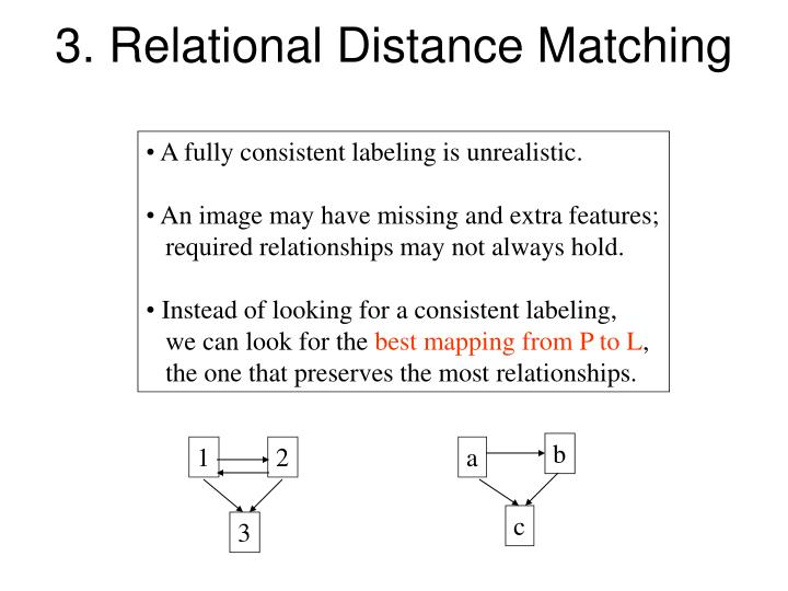 3. Relational Distance Matching