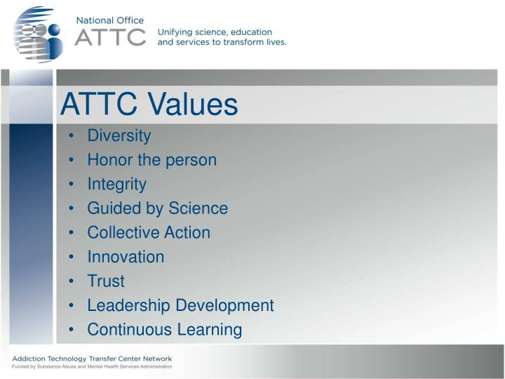 ATTC Values