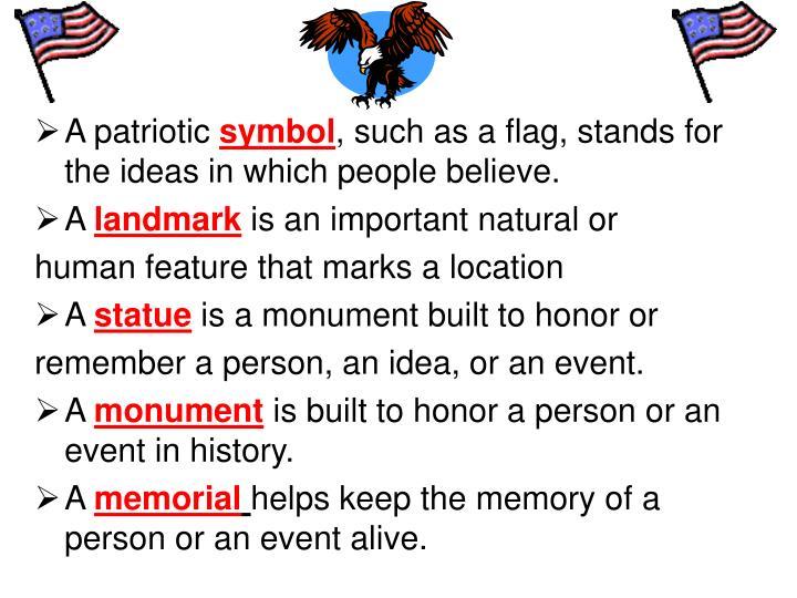 A patriotic