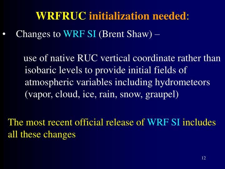 WRFRUC