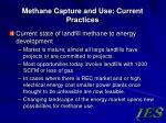 methane capture and use current practices2