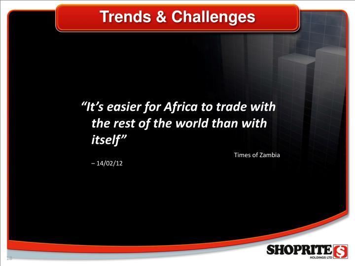 Trends & Challenges