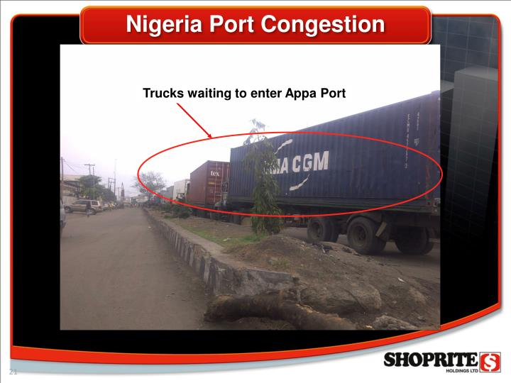 Nigeria Port Congestion