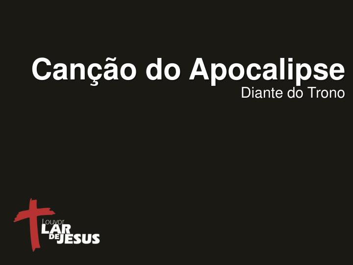 Can o do apocalipse