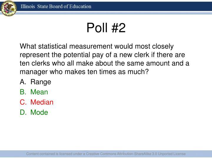 Poll #2