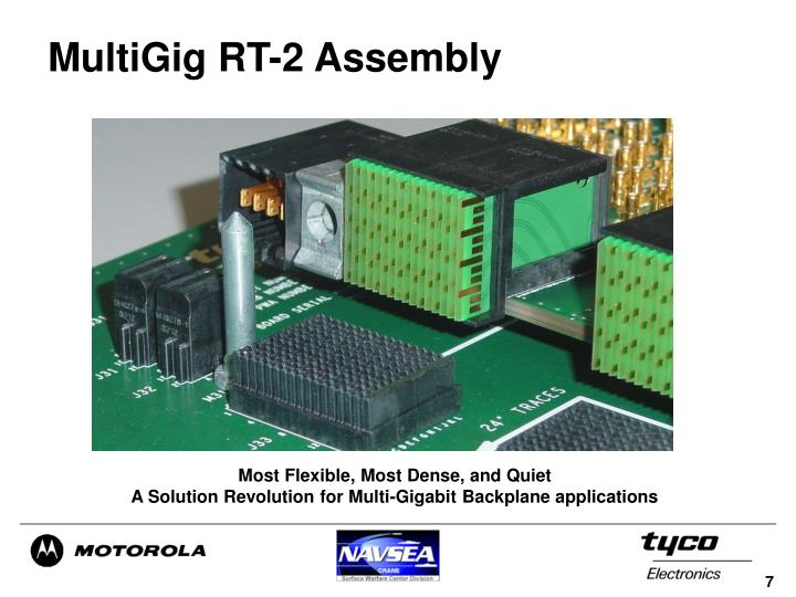 MultiGig RT-2 Assembly