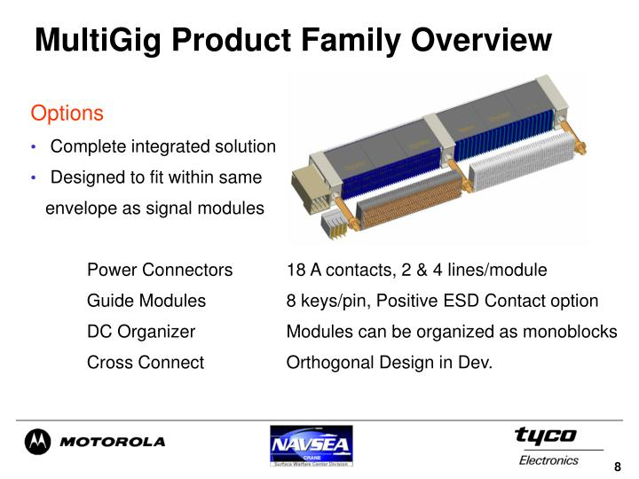 MultiGig Product Family Overview