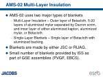 ams 02 multi layer insulation