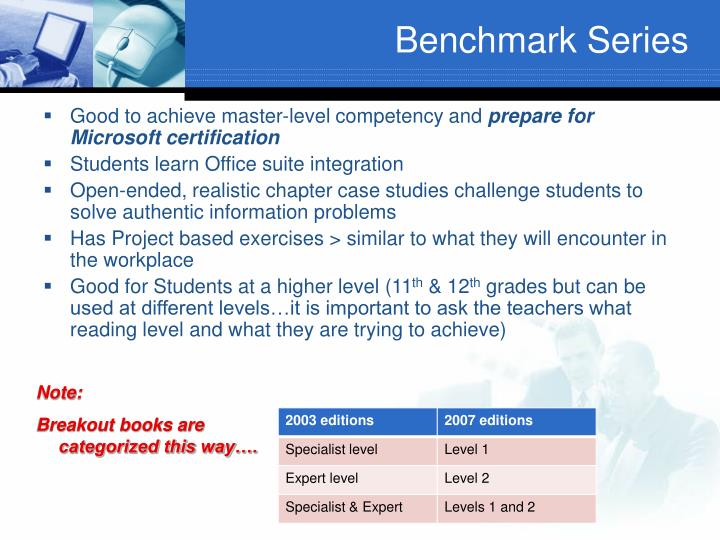 Benchmark Series
