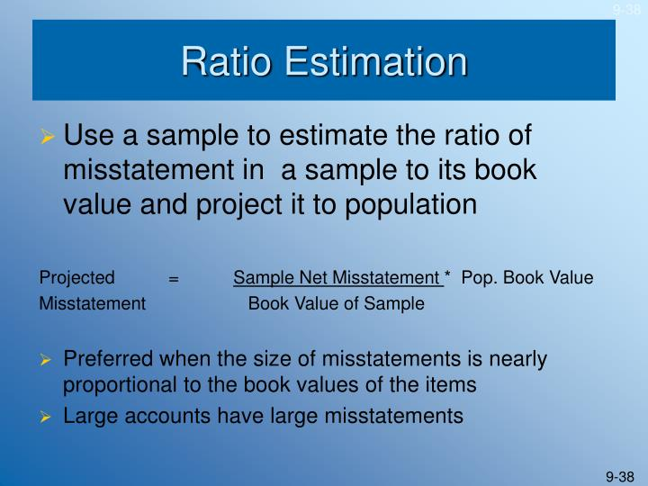 Ratio Estimation