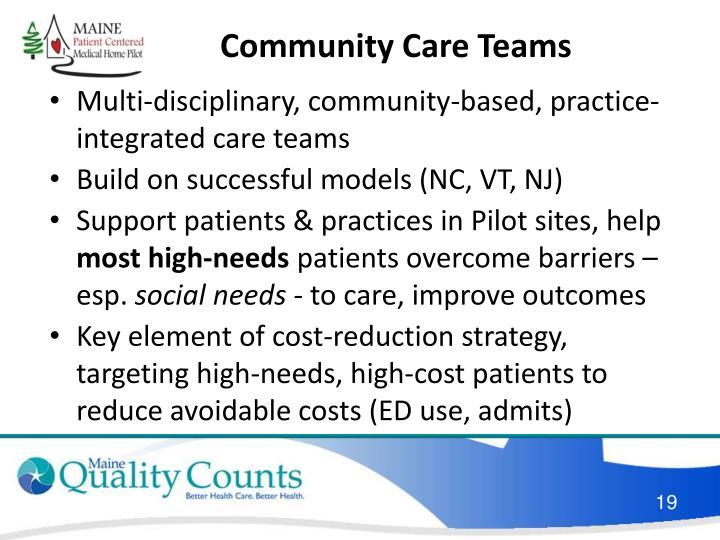 Community Care Teams