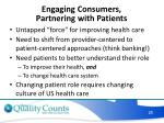 engaging consumers partnering with patients