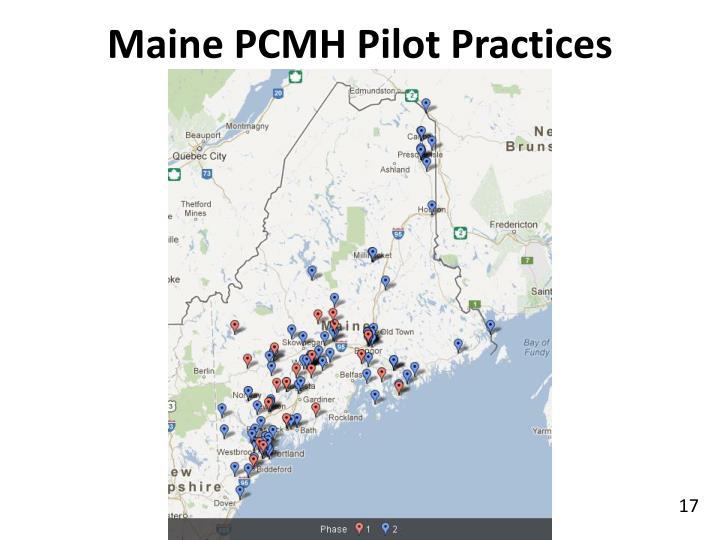 Maine PCMH Pilot Practices