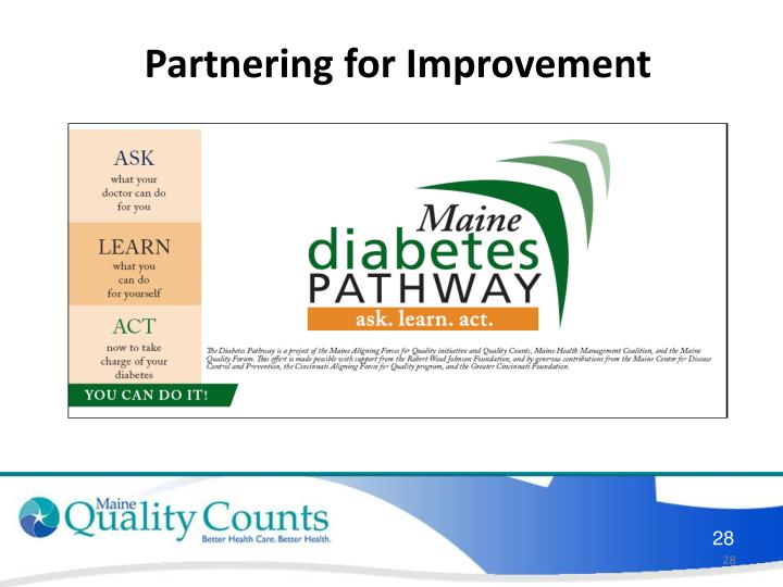 Partnering for Improvement