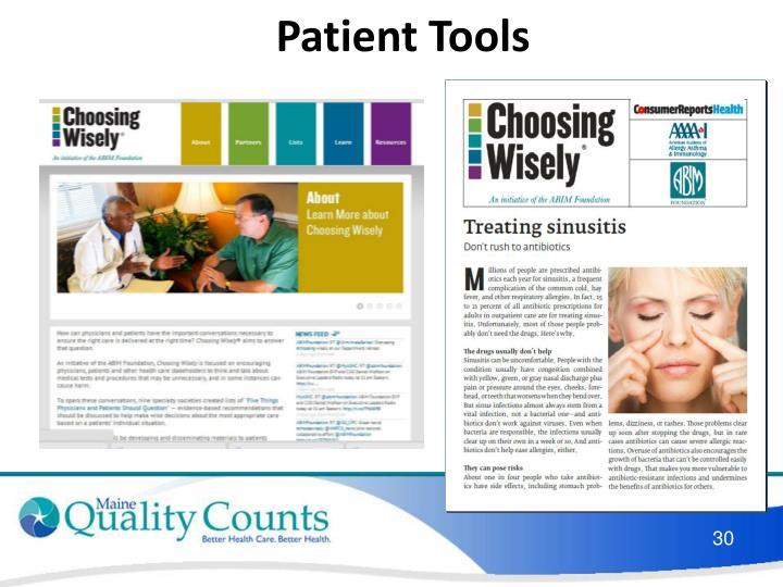 Patient Tools