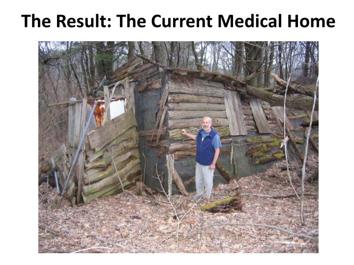 The Result: The Current Medical Home