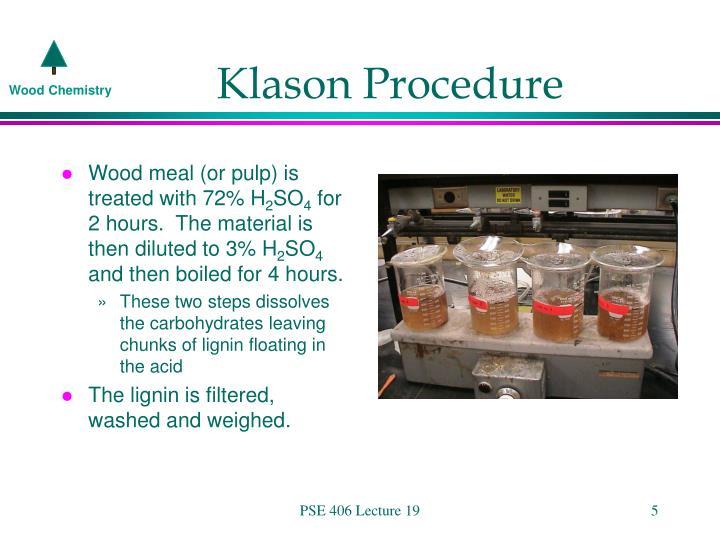 Klason Procedure