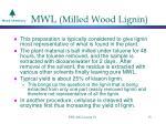 mwl milled wood lignin