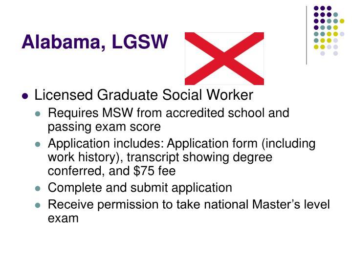 Alabama, LGSW