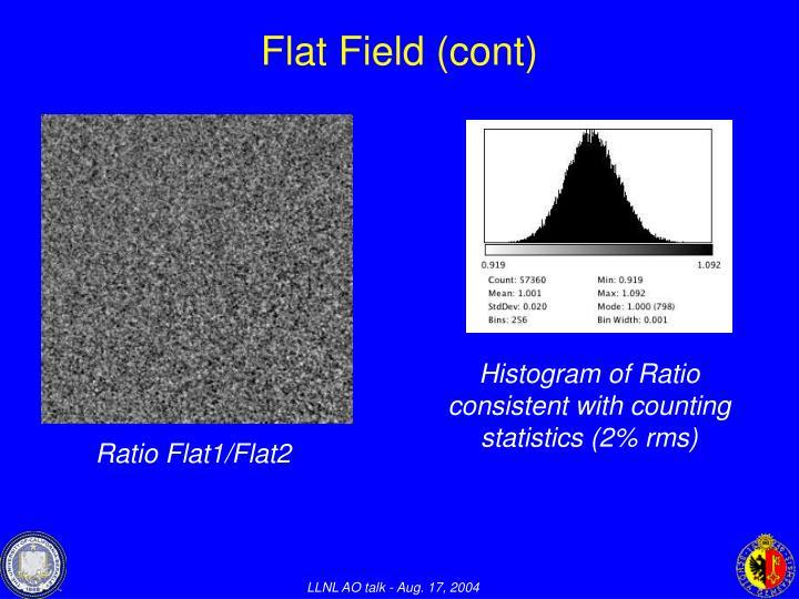 Flat Field (cont)