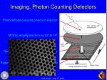 imaging photon counting detectors