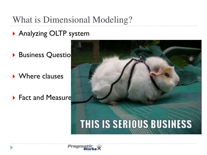 What is Dimensional Modeling?