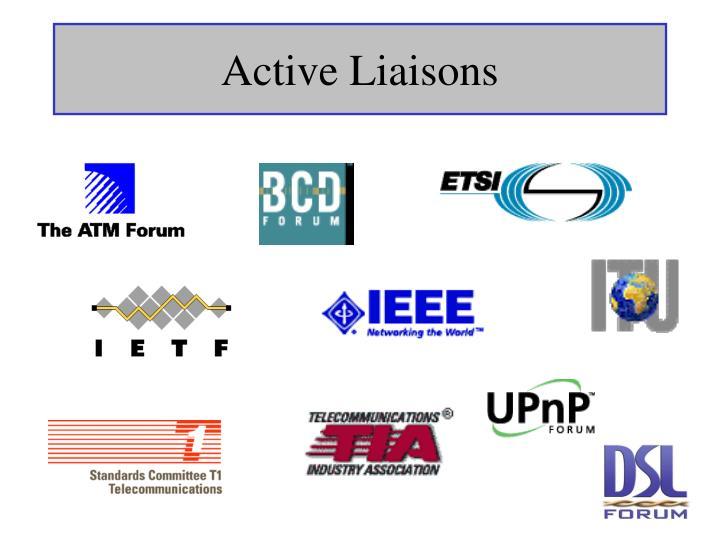 Active Liaisons