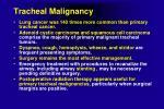 tracheal malignancy