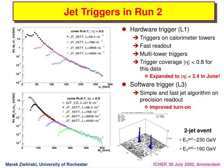 Hardware trigger (L1)