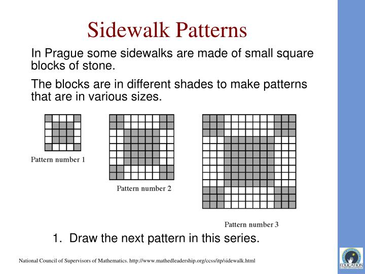 Sidewalk Patterns