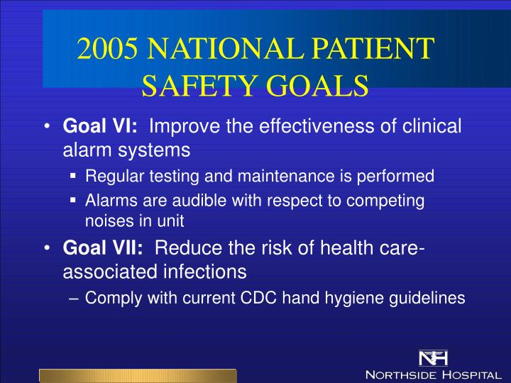 abib national patient safety goals November 15, 2017 national patient safety goals effective january 1, 2018  included below are links to the 2018 national patient safety goals (npsgs) for  the.