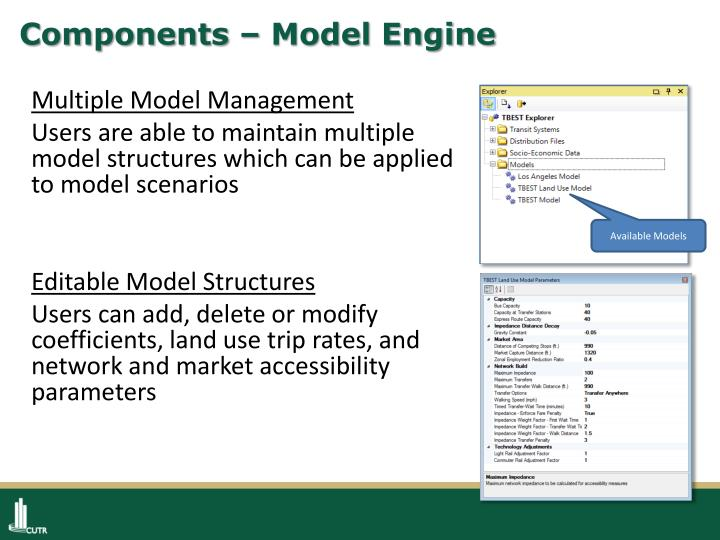 Components – Model Engine