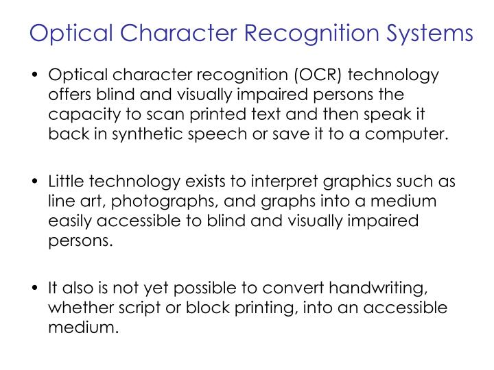 PPT - Assistive Technology for the Blind PowerPoint ...