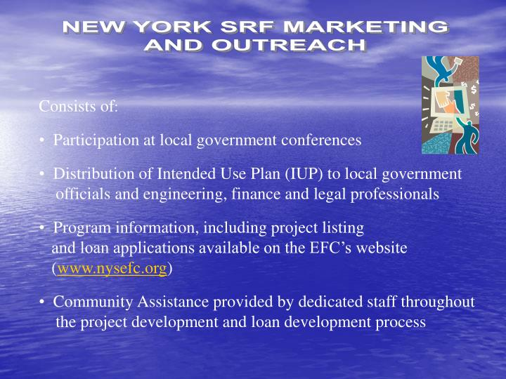 NEW YORK SRF MARKETING