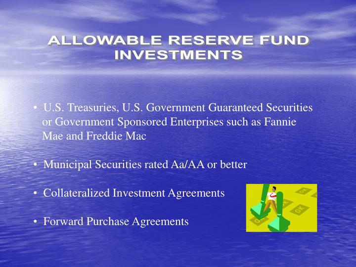 ALLOWABLE RESERVE FUND