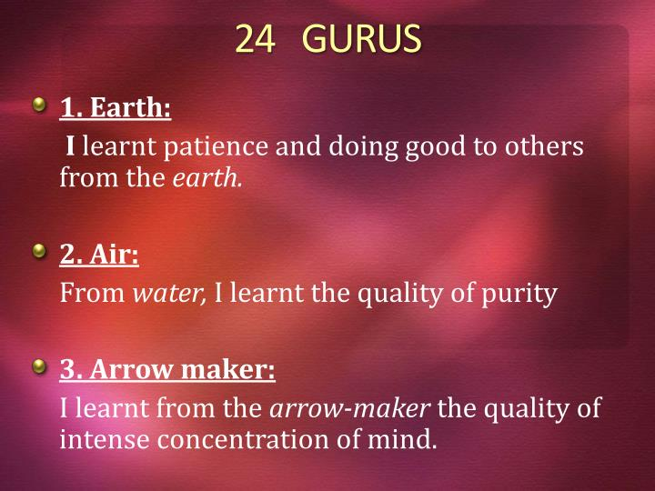 24   GURUS