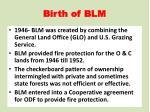 birth of blm