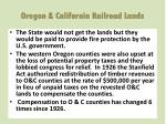 oregon california railroad lands3