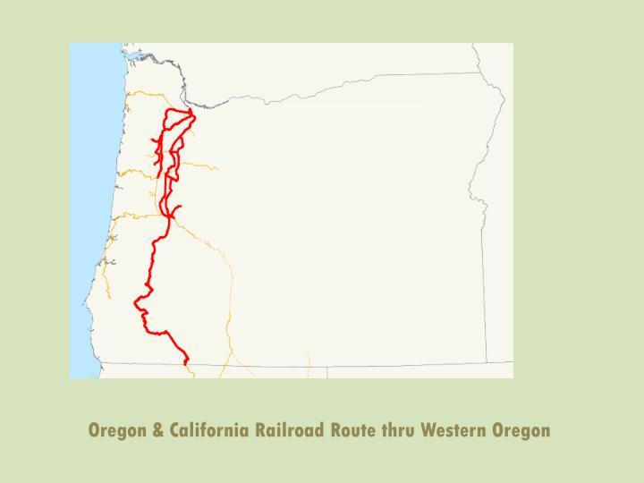 Oregon & California Railroad