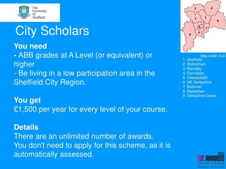 City Scholars