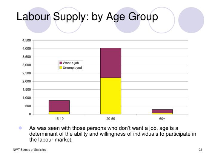 Labour Supply: by Age Group