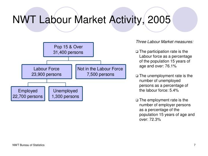 NWT Labour Market Activity, 2005