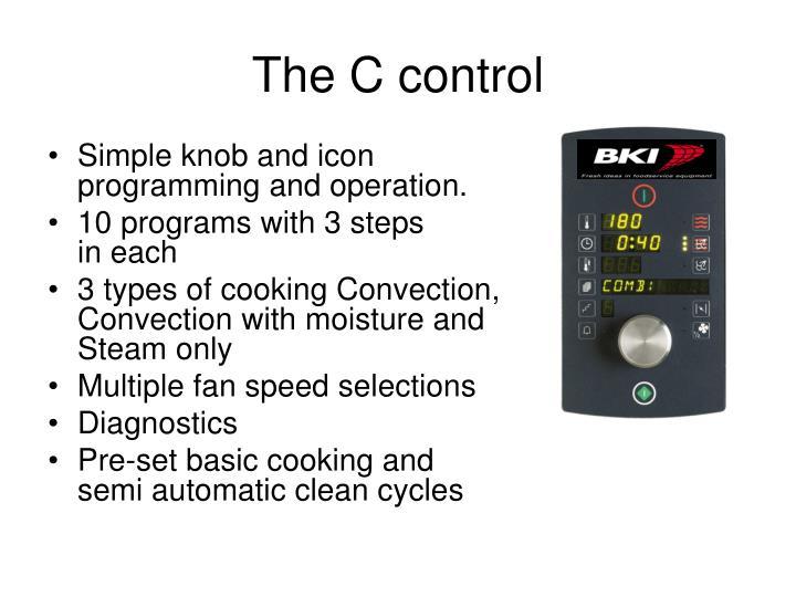 The C control
