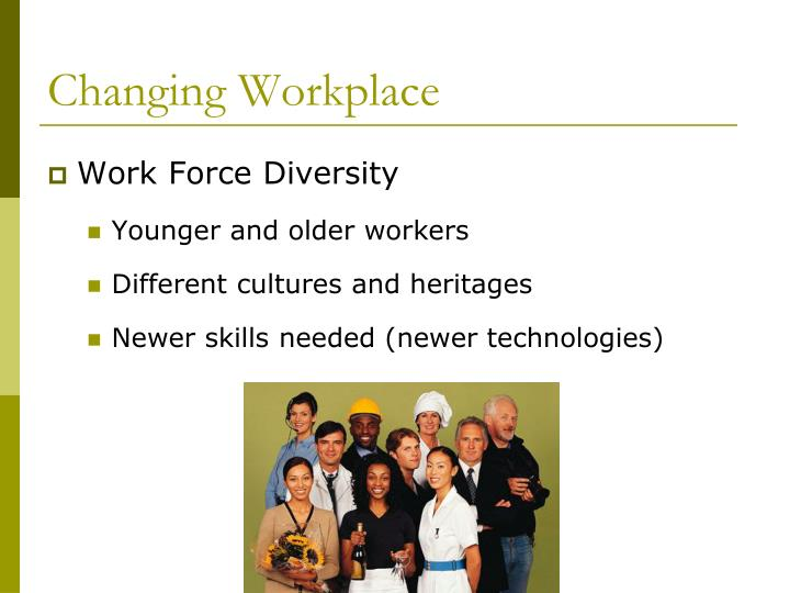 Changing Workplace
