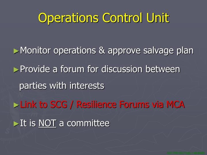 Operations Control Unit