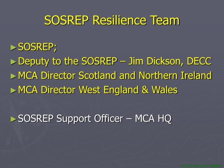 SOSREP Resilience Team