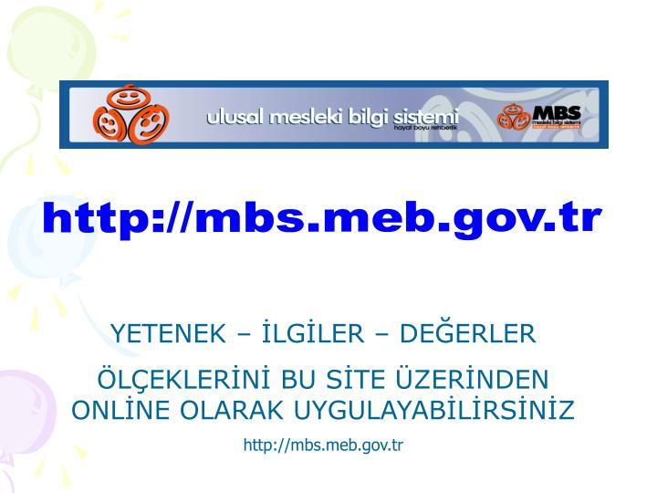 http://mbs.meb.gov.tr