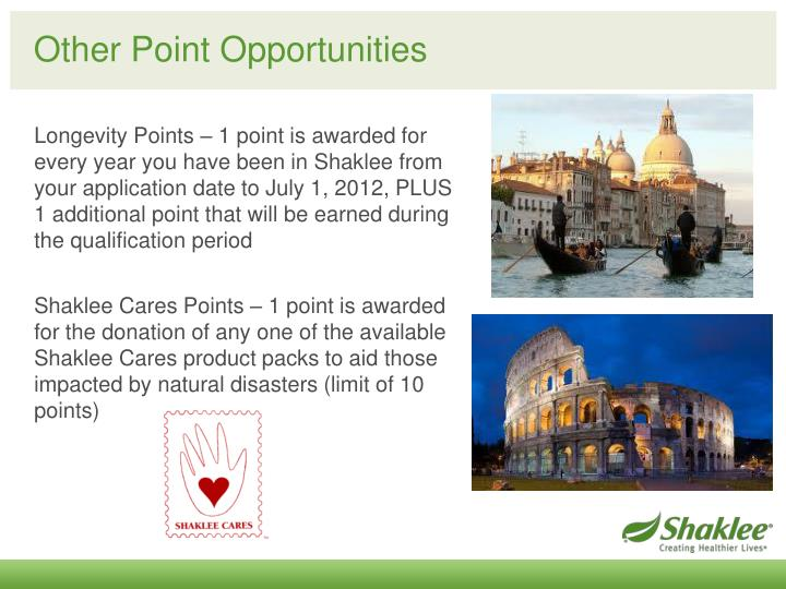 Other Point Opportunities