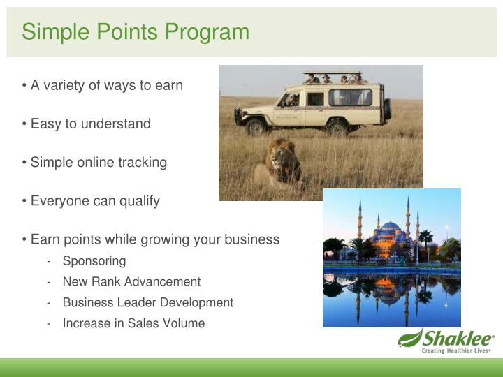 Simple Points Program
