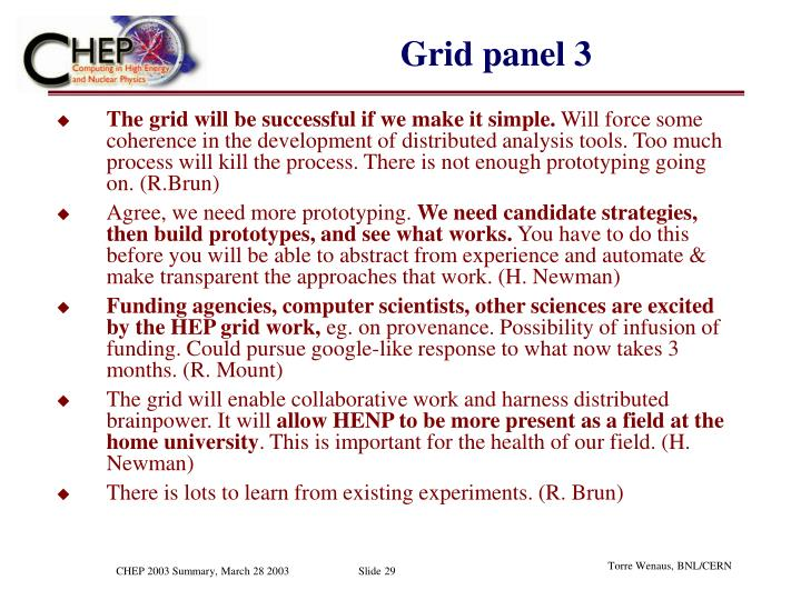 Grid panel 3